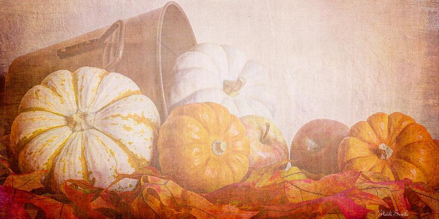 Corn Photograph - Autumn Abundance  by Heidi Smith