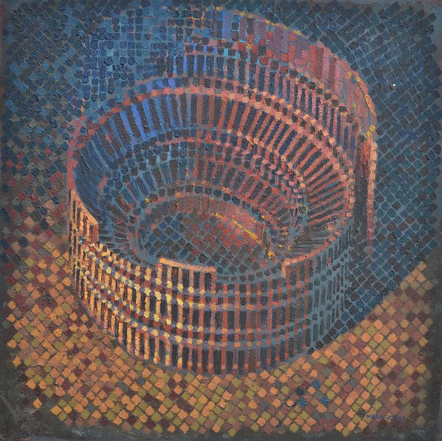 Roman Painting - Autumn Amphitheatre by Mark Jones