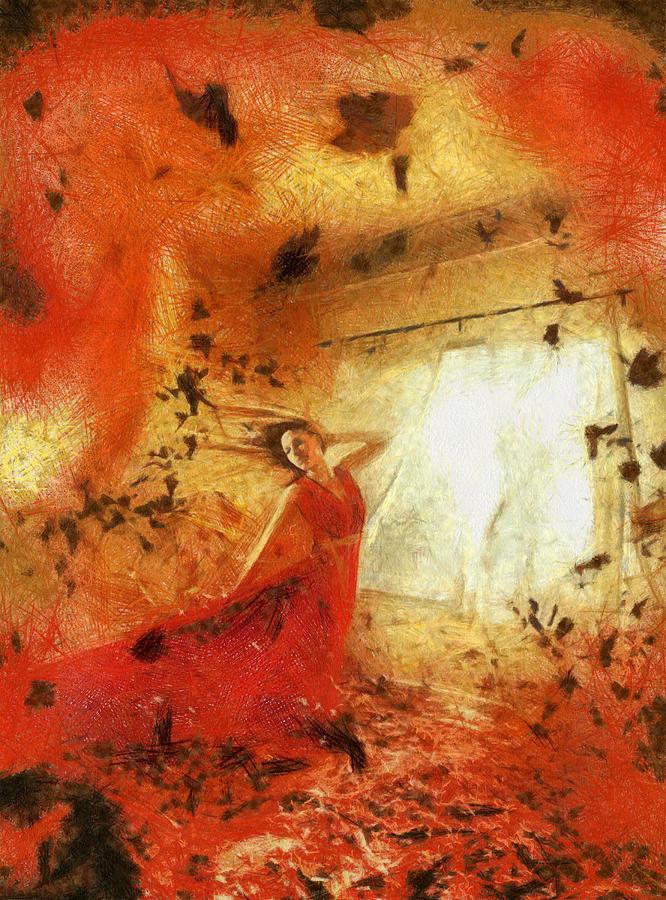 Autumn Painting - Autumn by Arin Koleva