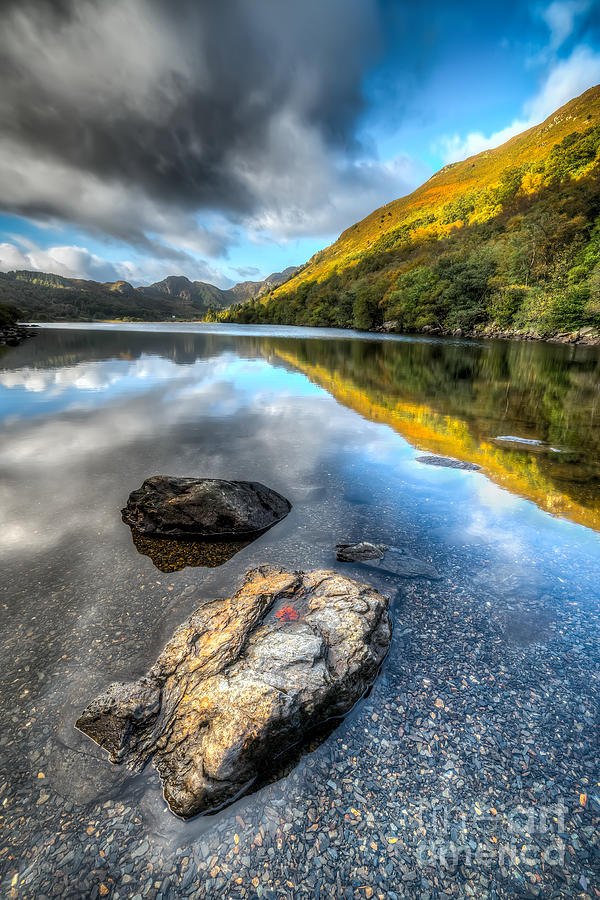 Betws Y Coed Photograph - Autumn At Crafnant  by Adrian Evans