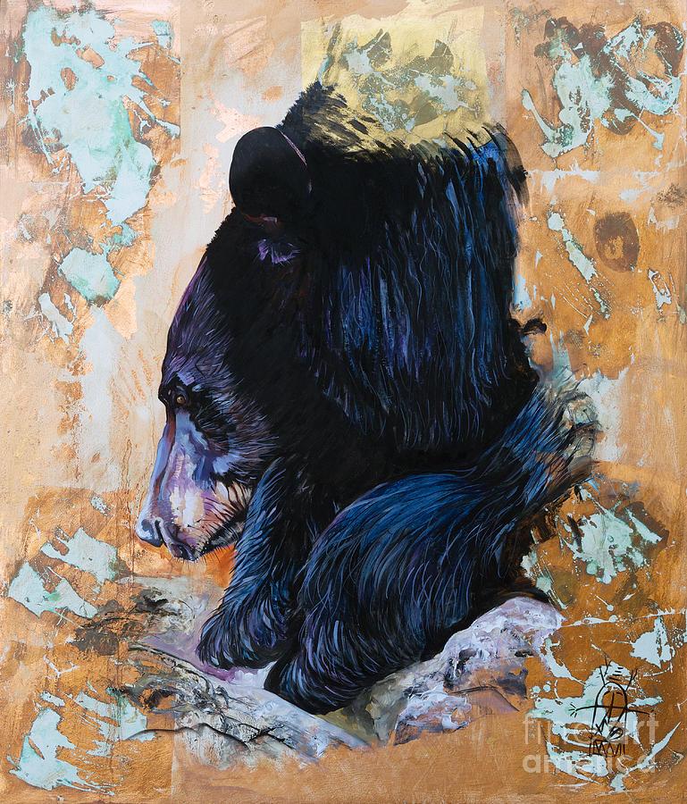 Autumn Bear by J W Baker