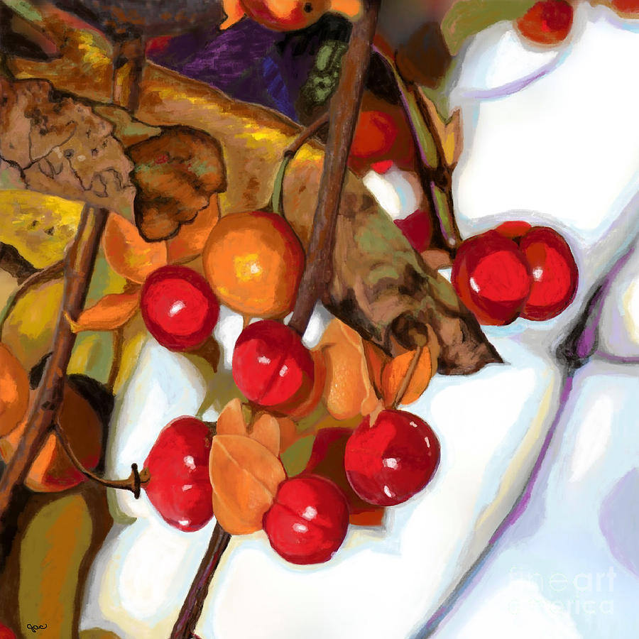 Autumn Berries by Jackie Case