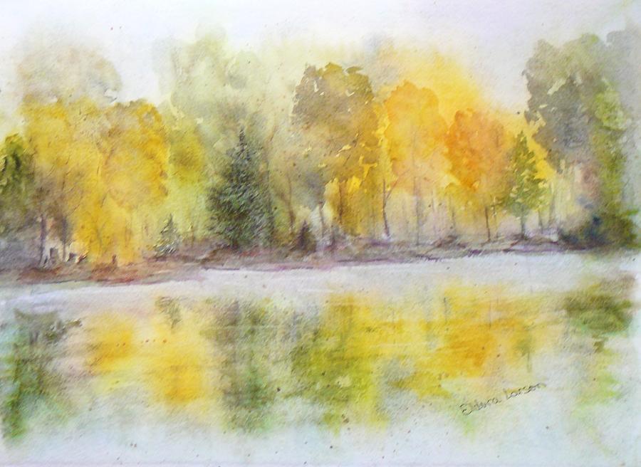 Autumn Painting - Autumn Brilliance by Eldora Schober Larson