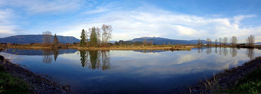 Alouette River Autumn Calm, Maple Ridge, British Columbia Photograph