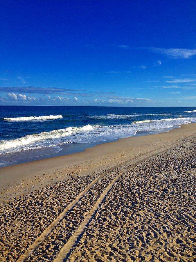 Autumn Photograph - Autumn Carolina Beach by Joan Meyland
