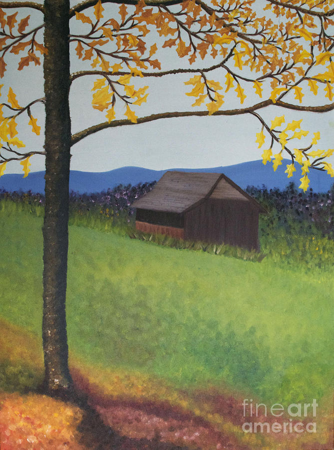 Autumn Painting - Autumn by Cecilia Stevens