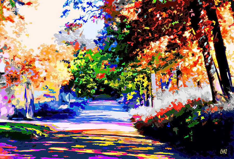 Autumn Painting - Autumn by CHAZ Daugherty