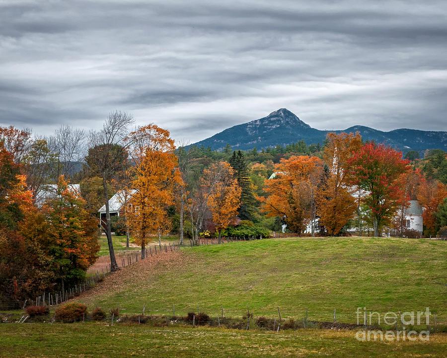 New Hampshire Photograph - Autumn Chocorua by Scott Thorp