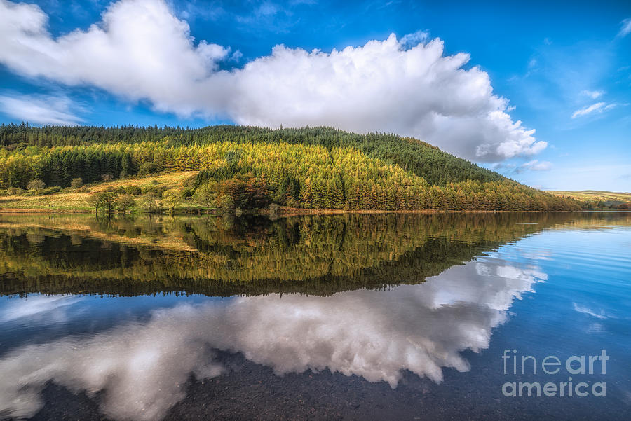 Hdr Photograph - Autumn Clouds by Adrian Evans
