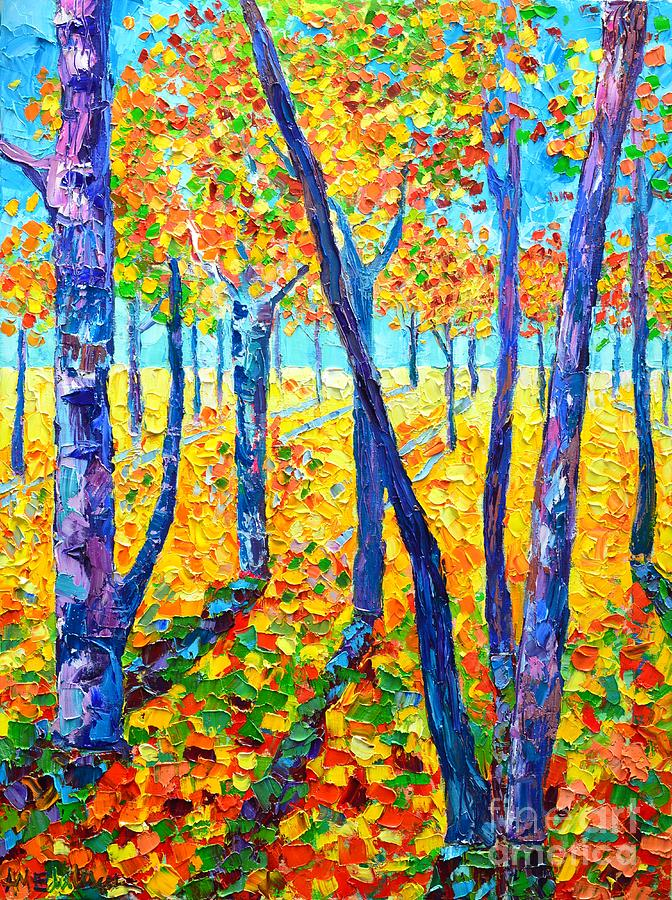 Autumn Painting - Autumn Colors by Ana Maria Edulescu