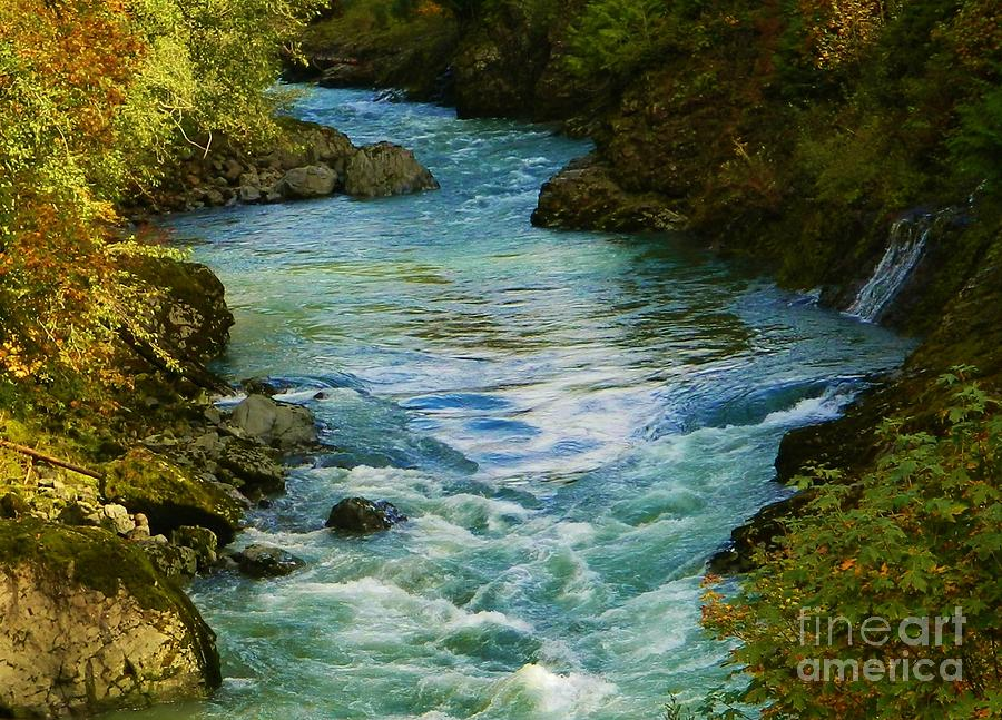River Photograph - Autumn Colors by Gallery Of Hope