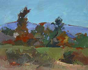 Impressionism Painting - Autumn Colors    No 3009 by Billups Fine Art