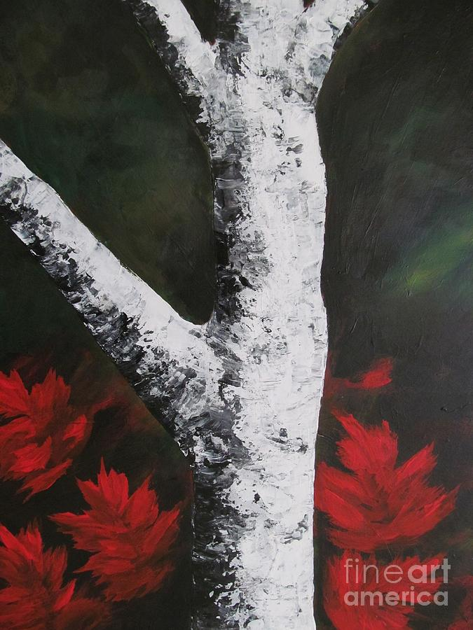 Autumn Dance Painting by Beverly Livingstone