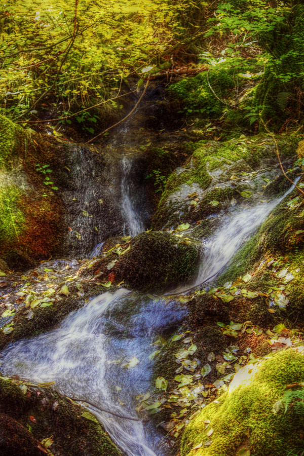 Waterfalls Photograph - Autumn Falls by Melanie Lankford Photography