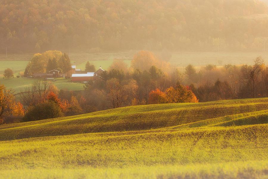 Michele Photograph - Autumn Fields by Michele Steffey