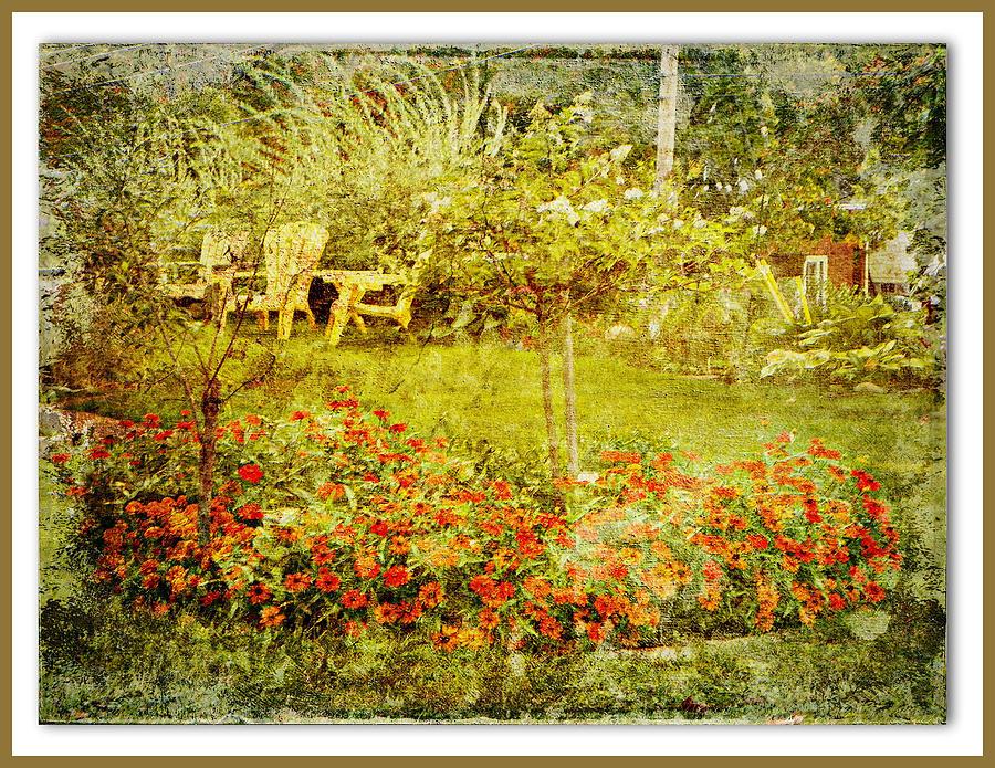 Autumn Garden Photograph by Dianne  Lacourciere