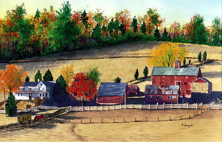 Autumn in New Jersey by Norman Freyer
