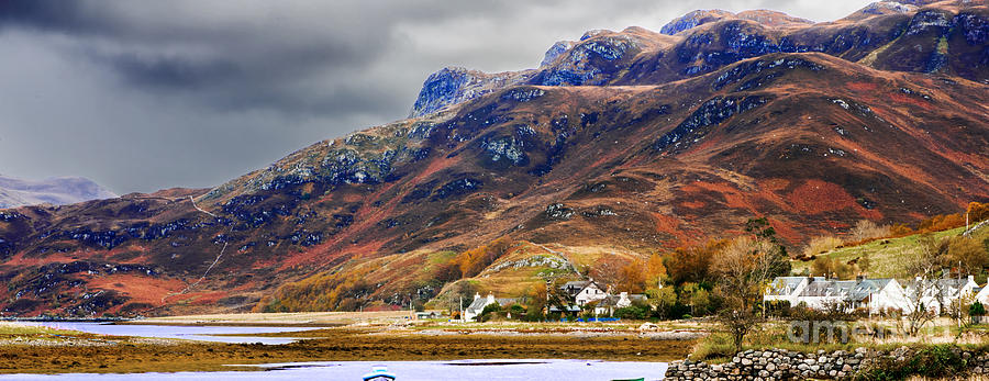 Autumn Photograph - Autumn In Scotland In Dornie by Lilianna Sokolowska