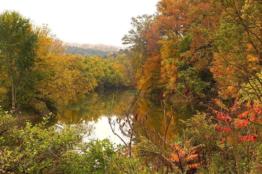 Unadilla Valley Photograph - Autumn In The Butternut Valley-five by Byron Varvarigos