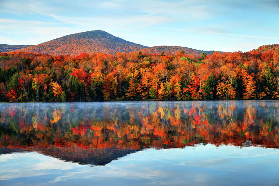 Autumn In Vermont Photograph by Denistangneyjr