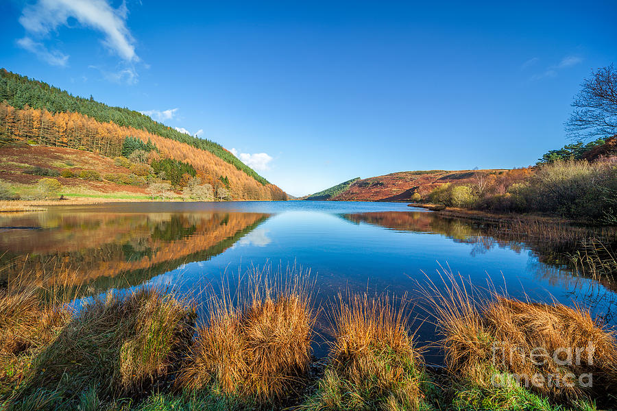 Betws Y Coed Photograph - Autumn Lake by Adrian Evans