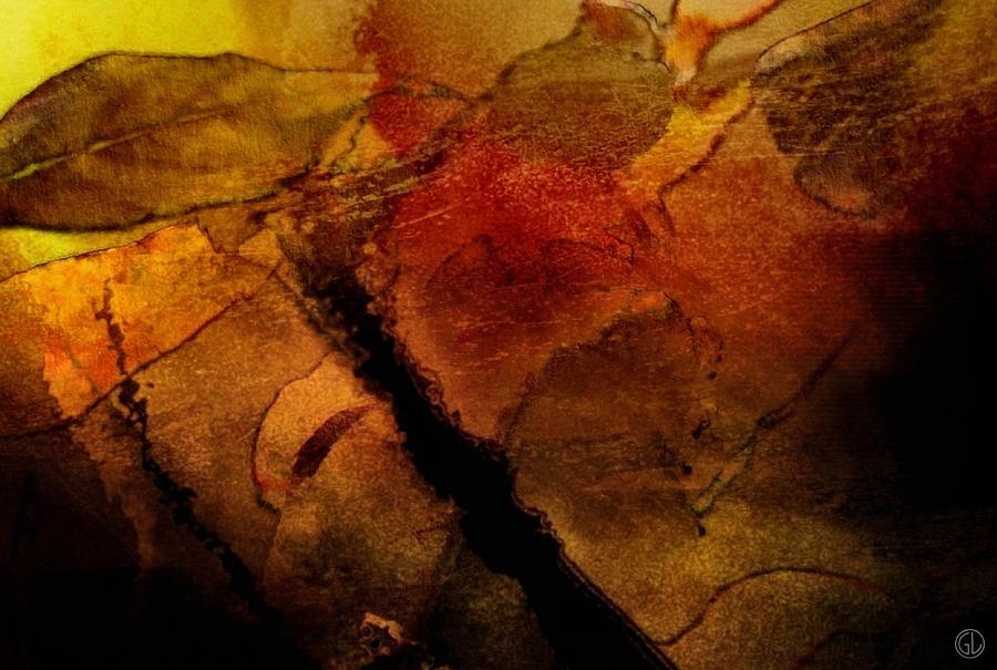 Nature Digital Art - Autumn Leaves  Autumn Comes by Gun Legler