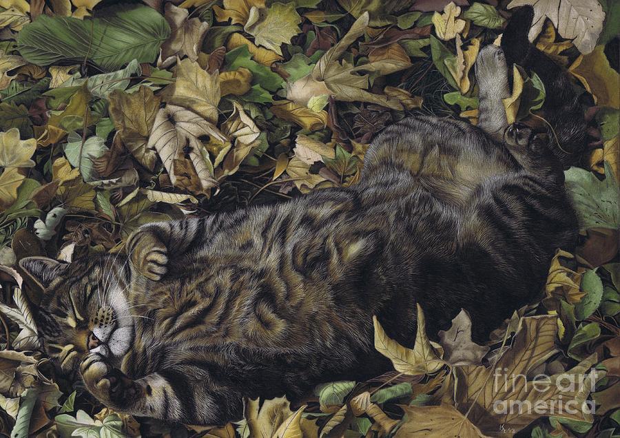 Autumn Leaves Pastel