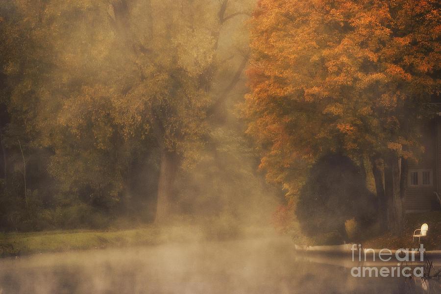 Autumn Mist Photograph by Julie Palyswiat