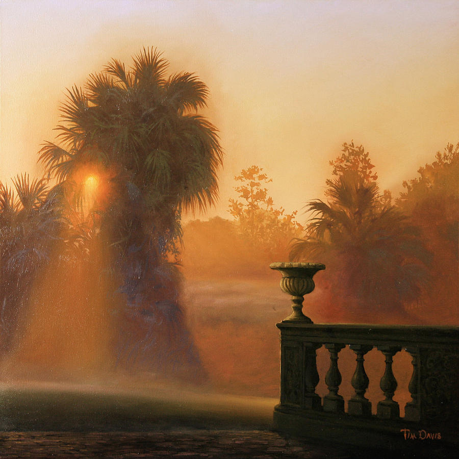 Sun Painting - Autumn Mist by Tim Davis