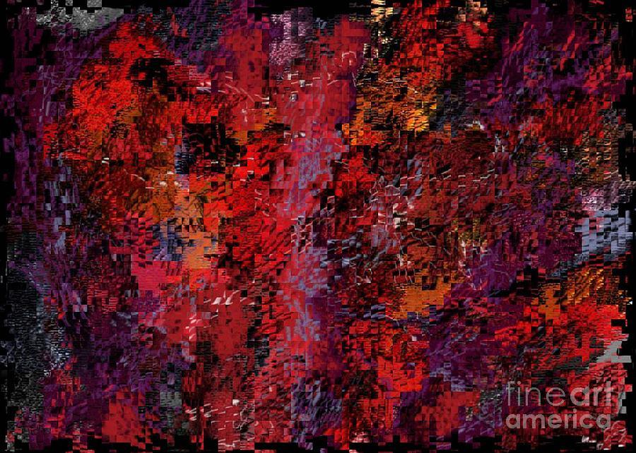 Abstract Digital Art - Autumn Mood by Igor Schortz