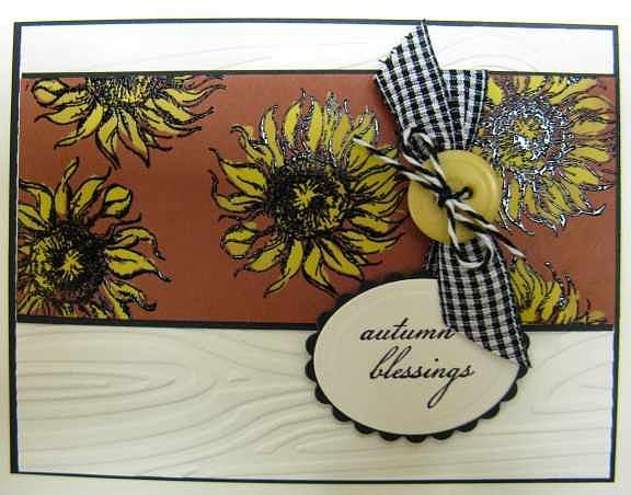 Autumn Note Card Mixed Media by Cheryl Depler