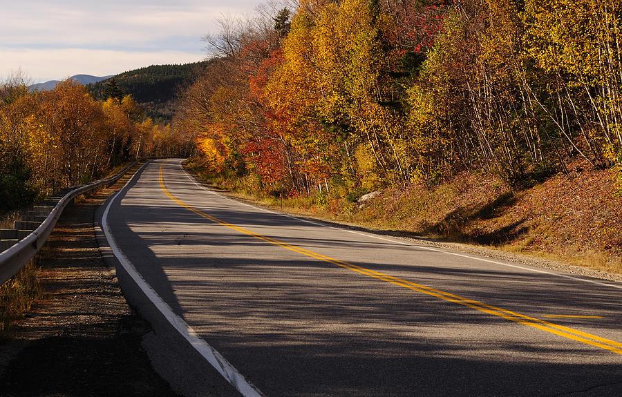 Kancamagus Photograph - Autumn on the Kancamagus Highway by Luke Moore