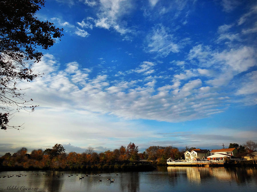 Outdoors Photograph - Autumn On The River by Mikki Cucuzzo