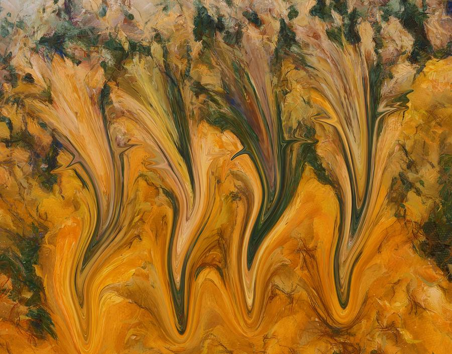Autumn Digital Art - Autumn Pixies by Dan Sproul