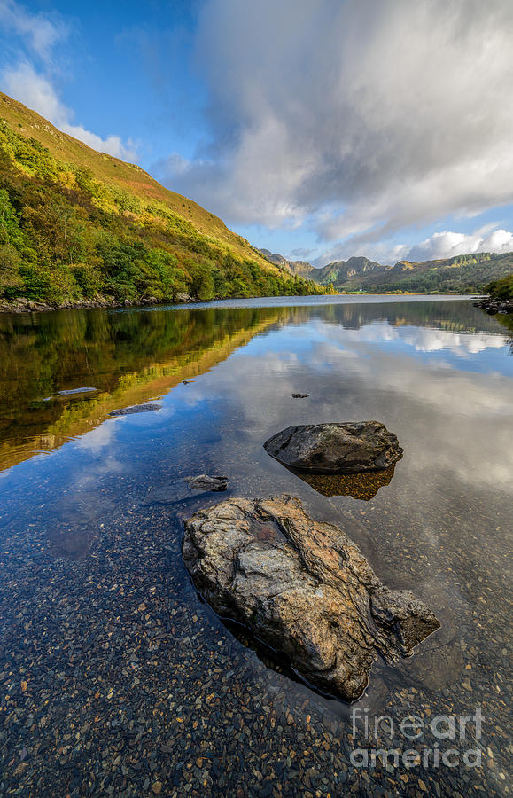 Betws Y Coed Photograph - Autumn Reflection by Adrian Evans