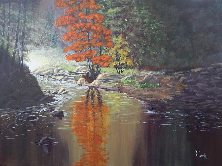 Autumn Reflection by Robert Clark
