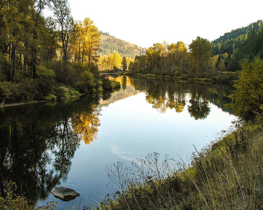 Autumn Photograph - Autumn Reflections 4 by Curtis Stein