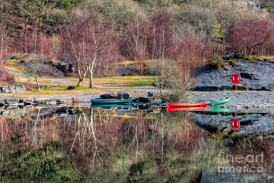 Autumn Photograph - Autumn Reflections by Adrian Evans