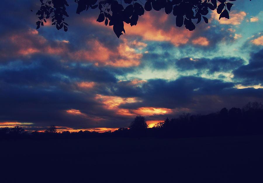 Autumn Photograph - Autumn Sky by Patrick Horgan