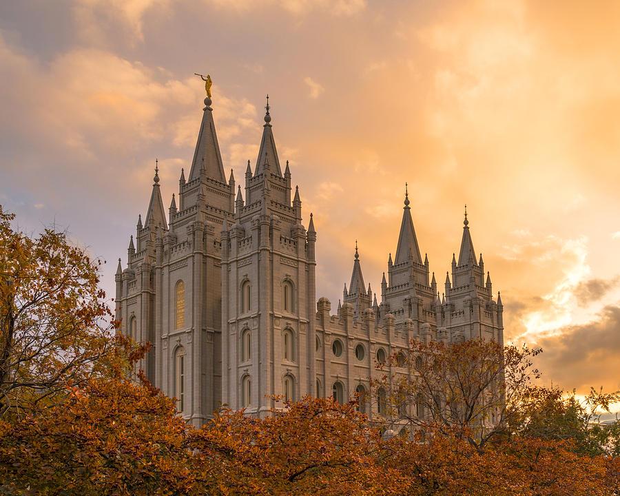 Utah Photograph - Autumn Splendor by Dustin  LeFevre