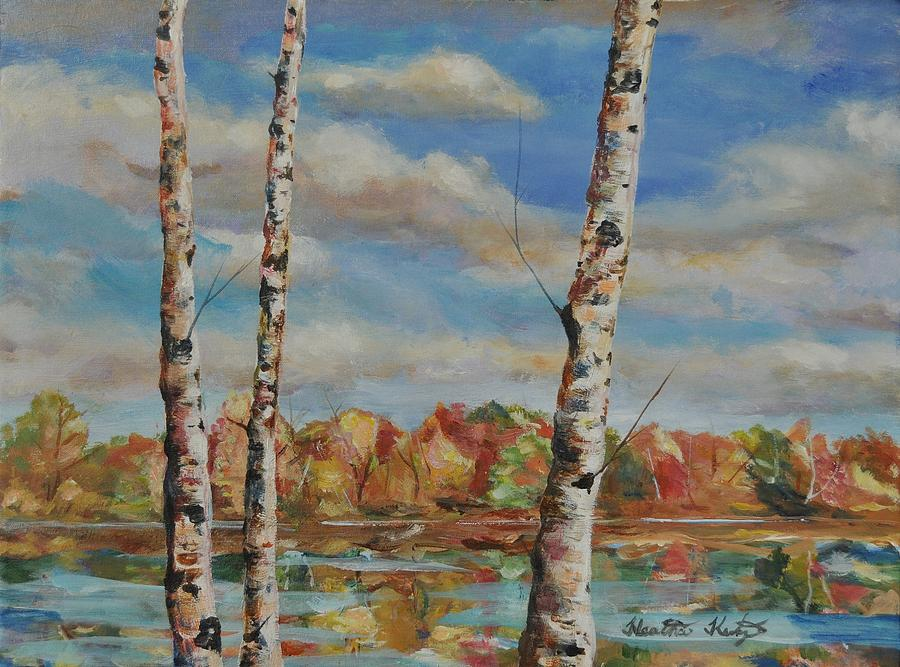 Autumn Painting - Autumn Splendor by Heather Kertzer