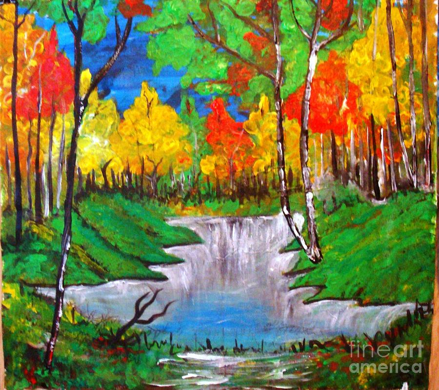Autumn Splendor Painting by Sonali Singh