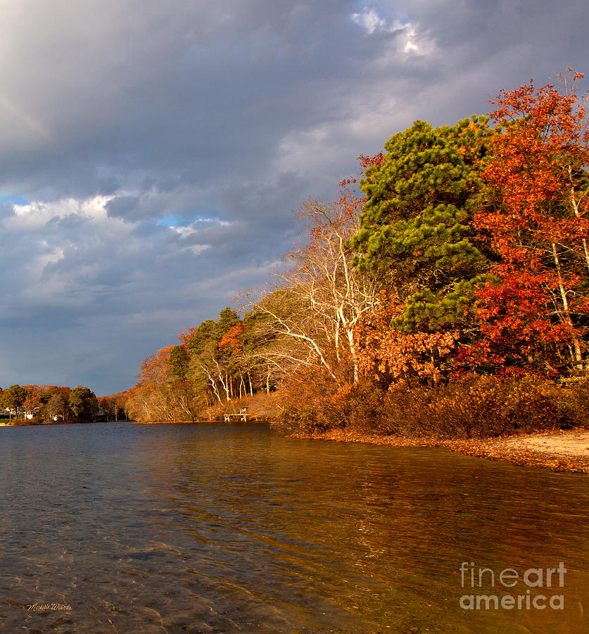 Autumn Photograph - Autumn Storm Approaching by Michelle Wiarda