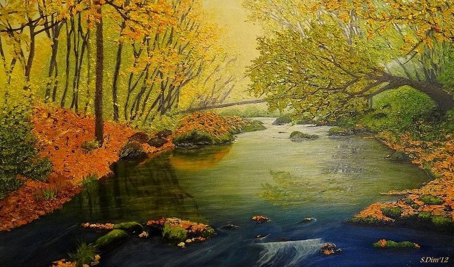 Autumn Painting - Autumn by Svetla Dimitrova