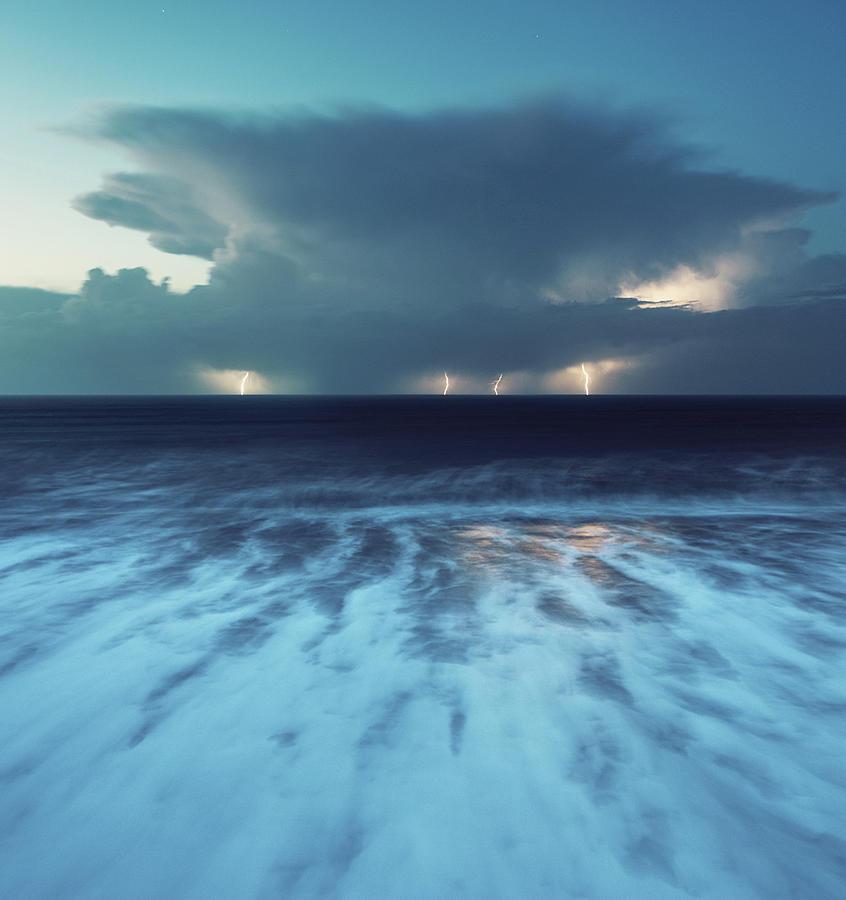 Autumn Thunderstorm Photograph by Shaunl