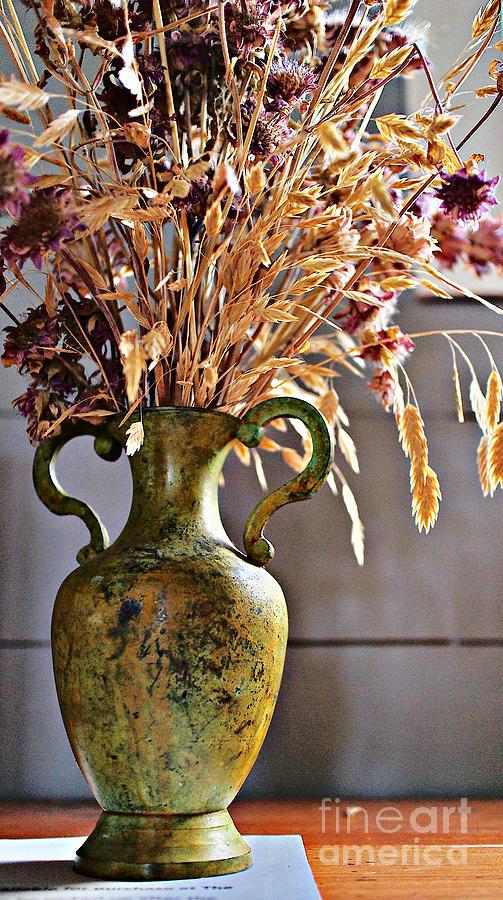 Autumn Vase Photograph