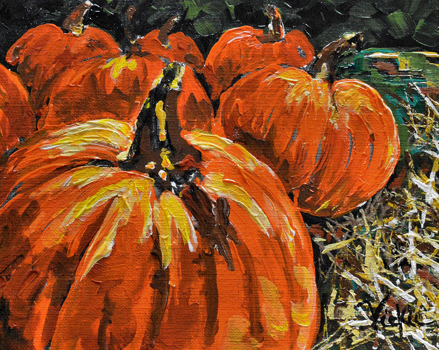 Autumn Painting - Autumn by Vickie Warner