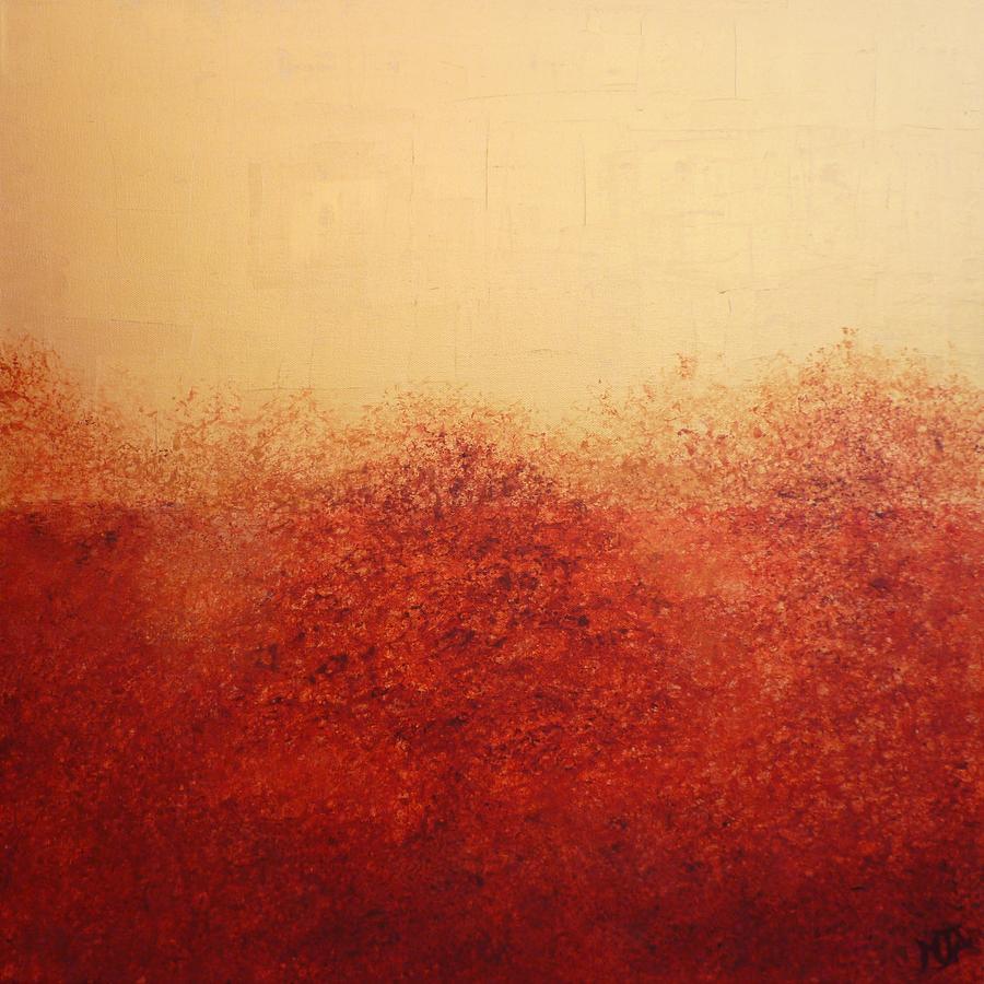 Autumn Painting - Autumnal Mist by Mandy-Jayne Ahlfors