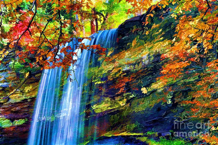 Autumn Photograph - Autumns Calm by Darren Fisher