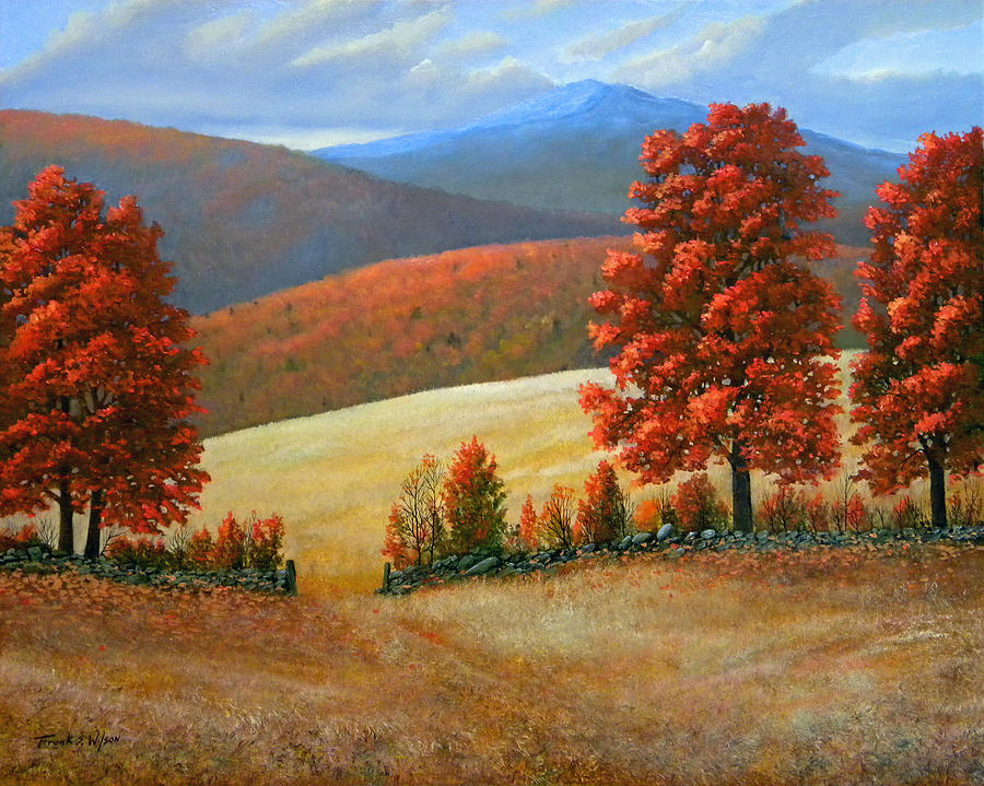 Landscape Painting - Autumns Glory by Frank Wilson